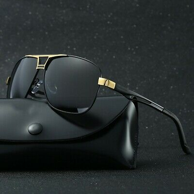 Men's Polarized Pilot Sunglasses Outdoor Driving Sun Glasses Sport Eyewear