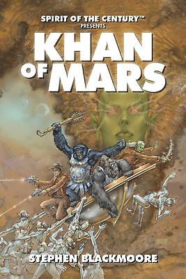 Evil Hat - Khan Of Mars - Novel - Softcover Book