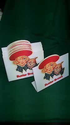 Vintage advertising sign for Buster Brown shoes