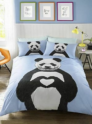 Panda Duvet Cover Bedding Including Pillowcase/s All Sizes Available