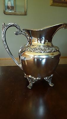 Heritage Silverplate Water Pitcher by 1847 Rogers Bros 9417
