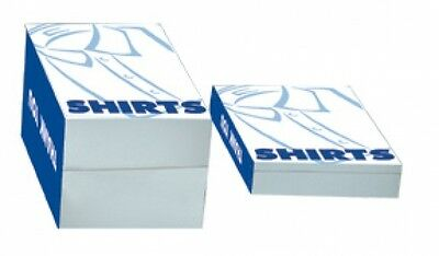 """Bulk 100 Shirt Boxes High Quality One Piece Open Ended Size:14.5""""L x 8.5""""W x 7""""H"""