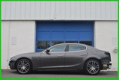 2015 Maserati Ghibli S Q4 Repairable Rebuildable Salvage Runs Great Cosmetic Hail Damage As New Other Wise