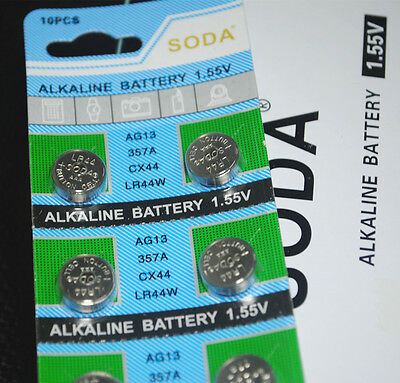 20 X AG13 LR44 1.5V Batteries LR 44 A76  357