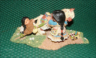 Enesco Friends Of The Feather Journey Of The Spirit Karen Hahn 1998 504912