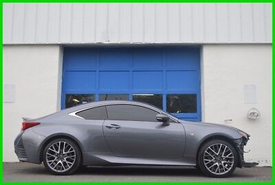 2015 Lexus RC Base Coupe 2-Door Repairable Rebuildable Salvage Lot Drives Great Project Builder Fixer Easy Fix