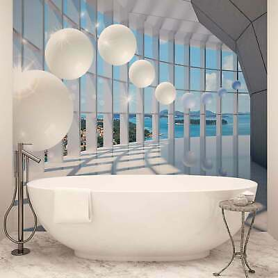 WALL MURAL PHOTO WALLPAPER XXL View Modern Hall Balls Sea Island (10419WS)