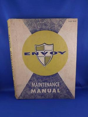 General Motors Envoy Maintenance Manual 1959 Car Repair Service Information