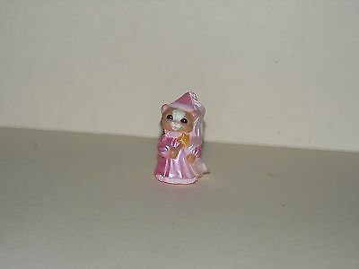 HALLMARK Halloween Merry Miniature 1993 Cat Princess