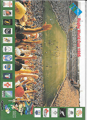 Rugby World Cup 1995 Souvenier pack, 150 Unit presentation pack & various cards