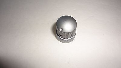 Dual concentric Bass Guitar knobs Pewter