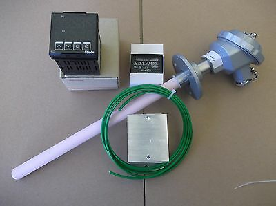 Ramp And Soak 9 Step  Pid Controller ,k Type Thermocouple ,crydom Ssr For Kiln