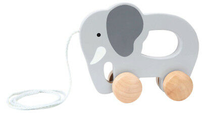 New Hape Push and Pull Elephant Childrens Toy