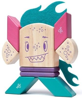 New Tegu Sticky Monsters Magnetic Block Set - Finklebear Childrens Toy