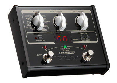 Vox StompLab SL1G Guitar Multi FX Pedal (NEW)