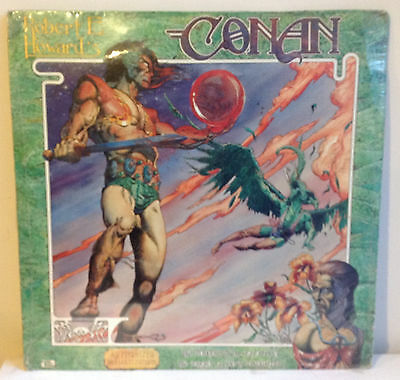 Rare Conan Record - Tower Of The Elephant Frost Giant's Daughter - Still Sealed!