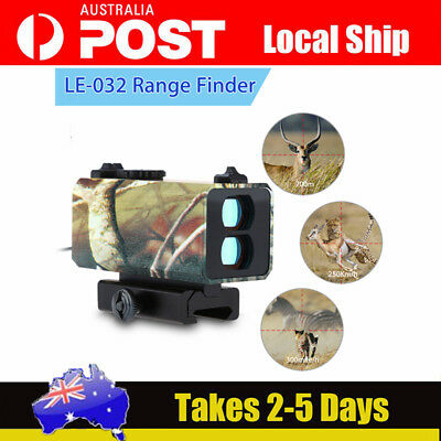 Tactical Aiming Laser Range Finder Sight Rifle Scope Distance Meter Speed 700m