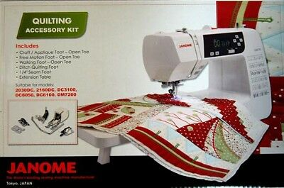 Janome Quilting Accessory Kit – suits 2050, 2160, 3100, 6050, 6100, 7200 + more