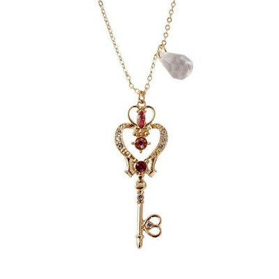 Anime Sailor Moon 25th Anniversary Neo Queen Serenity Tiara Necklace Jewelry