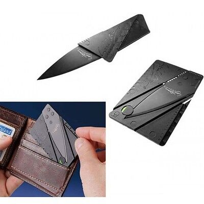 Credit card Wallet mini Self Defence outdoor pocket Hunting camping hand tool