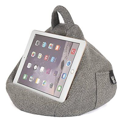 iBeani - Cojín para tablet Herringbone Grey