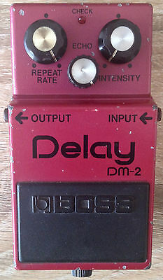 BOSS DM-2 MN3205 Analog Delay Pedal MIJ Japan Echo