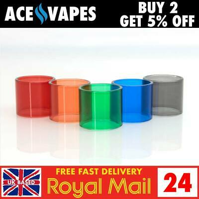 SMOK TFV12 BABY PRINCE TANK Official Coloured Pyrex Glass Pieces - Packs of 3
