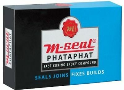 5 x M-Seal Fixes - Joins-Builds-Seals- Bonds Almost Anything 4-in-1 (25 GRAMS)