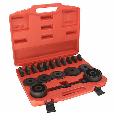 HFS 23Pc Fwd Front Wheel Drive Bearing Removal Adapter Puller Pulley Tool Kit