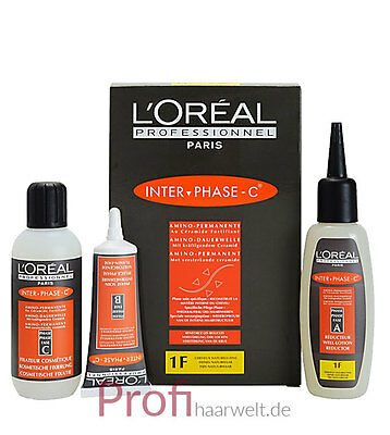 Loreal Inter-Phase Dauerwellen-Set C-1F