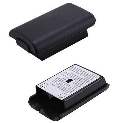 Black AA Battery Pack Back Cover Shell Case Kit For Xbox360 Controller