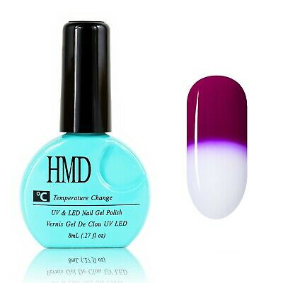 CANADA HMD Soak Off UV LED Gel Nails Polish Temperature Changing # 002 fast cure
