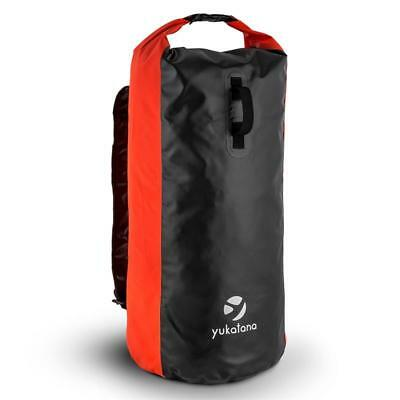 70 L Trekking Rucksack Waterproof Windproof Smellproof Pvc Red Duffle Gym Bag