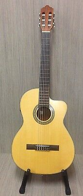 Full size  Electro-Acoustic classical  Guitar W/Crafter  C4-T EQ  Blemished #81
