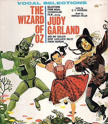 60s Vocal Selections from MGM's Technicolor Film the Wizard of Oz Music Book