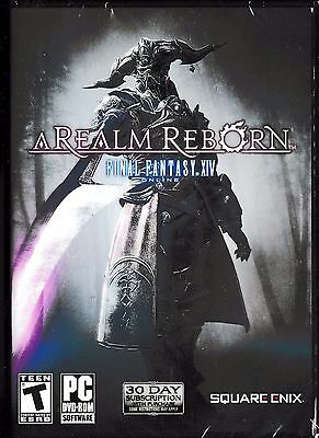 FINAL FANTASY XIV Online: A Realm Reborn (PC, 2015) *Factory Sealed*
