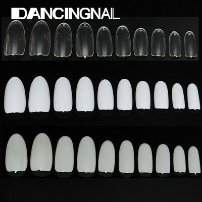 500pcs Faux Ongles Full Tips Capsules French Acrylique Gel UV Extension Nail Art