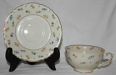 Syracuse Suzanne Federal Shape Footed Cup & Saucer Set Replacement FSH