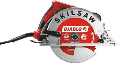 Circular Saw Magnesium 15 Amp Corded + 7-1/4 in. 24-Tooth Diablo Carbide Blade