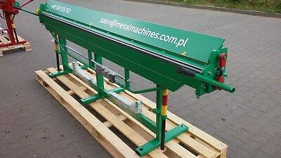Sheet Metal Folder/ Bender / Bending Brake 3100mm / Quick delivery + VIDEO