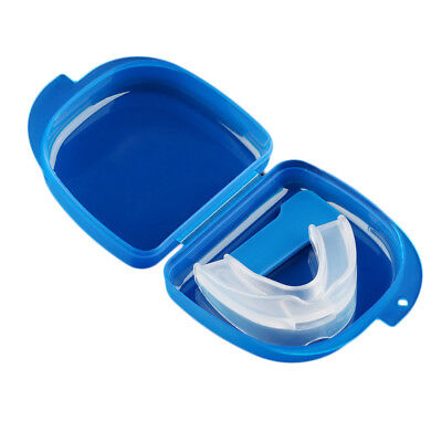 Mouth Guard Anti Snoring Bruxism with Case Box Sleep Aid BL