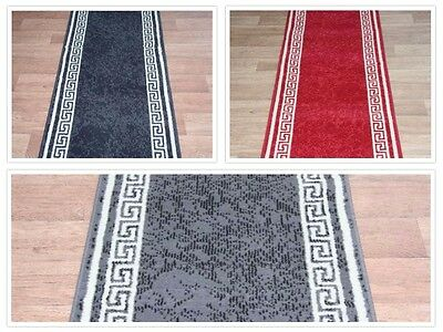 Stairs / Hall Aztec Carpet Runner Any Size x 60cm 3 Colours Carpet Runner