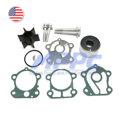 Water Pump Impeller Repair Kit for Yamaha OEM 60-90hp Outboards 692-W0078-02-00