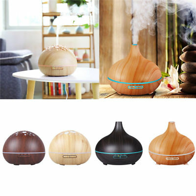 Essential Aroma Oil Diffuser Ultrasonic Humidifier Air Mist Aromatherapy Hotel J