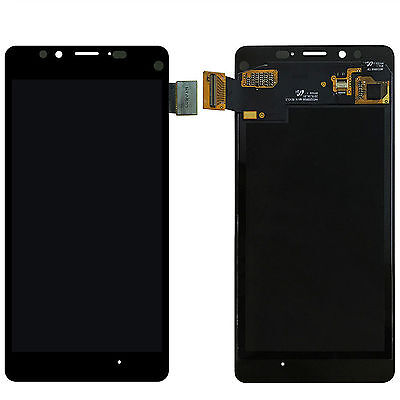 New Black LCD Display Touch Screen Digitizer Assembly For Microsoft Lumia 950