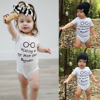 Cute Newborn Baby Boys Girls Infant Cotton Playsuits Jumpsuit Outfits Clothes