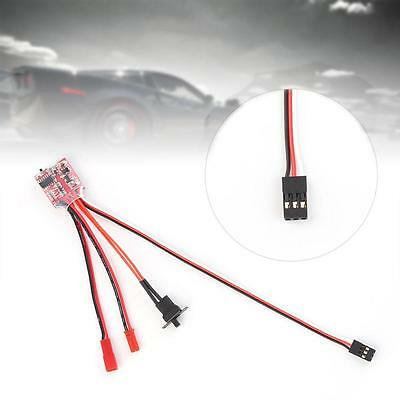 10A Bustophedon ESC Brushed Speed Controller BEC 5V 1A For RC Car Truck Boat IW