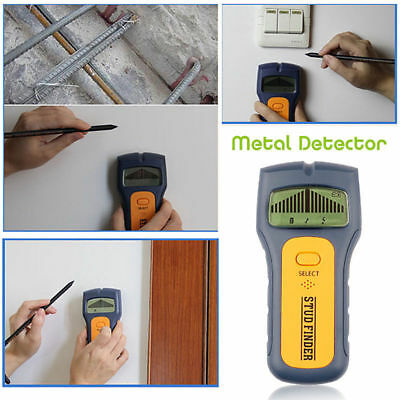 3 in 1 Multi Stud Scanner AC Live Wire Cable Wood Metal Wall Detector Finder Aut