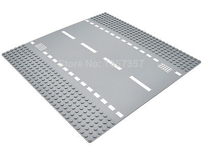 NEW 1pcs LEGO compatible Road Base Plate Baseplates Street City Roads Straight