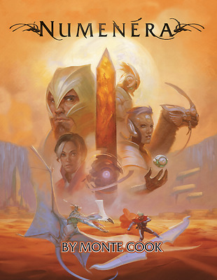 Numenera Core Rulebook - Tabletop Role Playing Game by Monte Cook